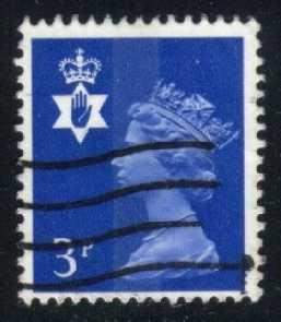 Great Britain-Northern Ireland #NIMH002 Machin; used (0.30)