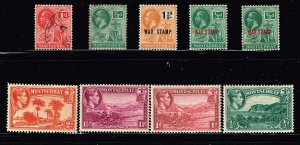 UK STAMP Montserrat USED AND MINT STAMPS COLLECTION LOT