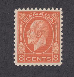 Canada Sc 200 MNH. 1932 8c red orange KGV, VF