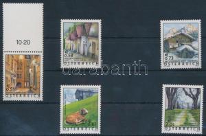 Austria stamp Landscapes set 2002 MNH Mi 2363-2367 WS216225