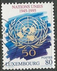 Luxembourg ---  Scott # 932 - Used