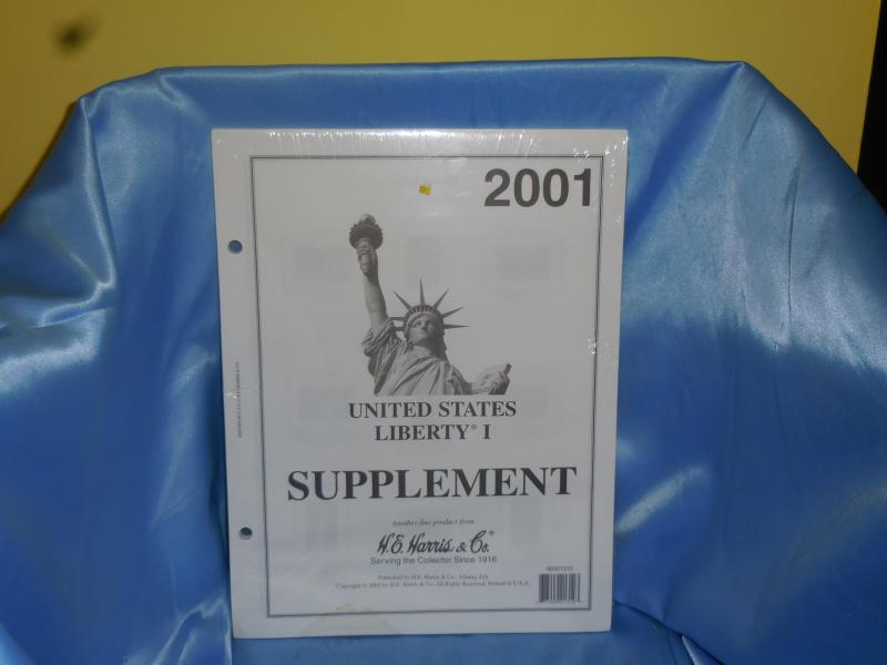 Harris Liberty one 2001 pages new