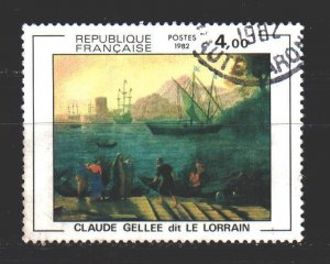 France. 1982. 2345. Paintings. USED.