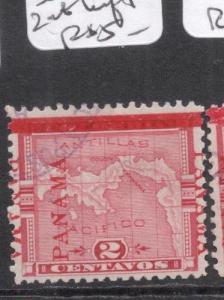 Panama SC 77 Three Overprints, Two At Left VFU (11dhj)