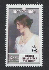BRITISH INDIAN OCEAN TERRITORY SC# 106 F-VF MNH 1990