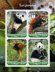 Z08 NIG190509a NIGER 2019 Pandas MNH ** Postfrisch