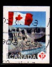 Canada - #2193 Flag over Tuklut National Park - Used