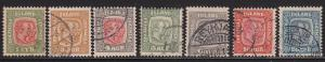 Iceland 99 - 107 Set VF used  scott cv $215 ! see pic !