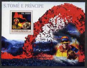 St Thomas & Prince Islands 2003 Volcanoes (with Molte...