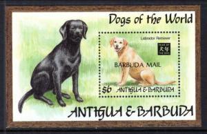 Barbuda 1532 Dog Souvenir Sheet MNH VF