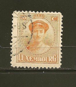 Luxembourg 139 Grand Duchess Used