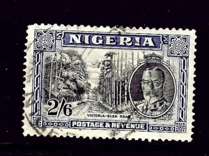 Nigeria 46 Used 1936 issue  has a very light crease  2019