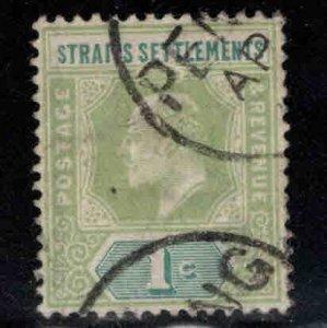 Straits Settlements Scott 93 Used  stamp