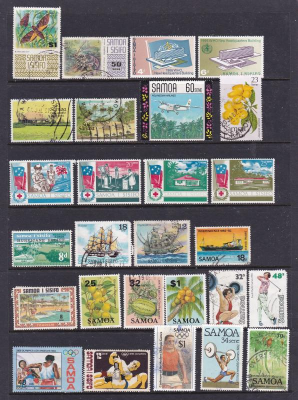Samoa a small collection used post independence