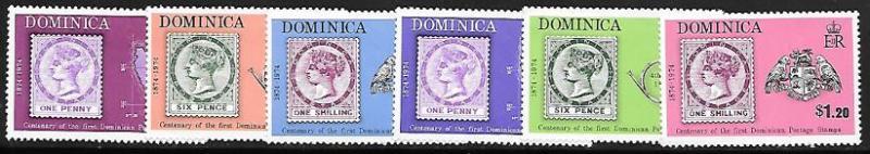 Dominica 389 - 94 mh 2013 SCV $2.45  --  1591