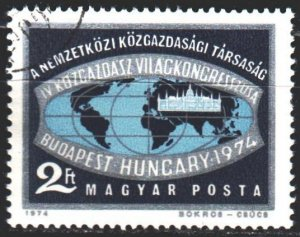 Hungary. 1974. 2968. Congress of Economists in Budapest. USED.