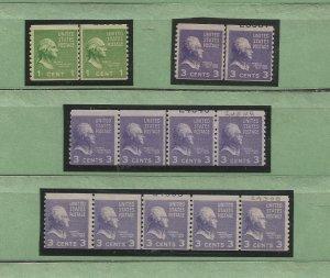 USA Postal Stamps MNH Pairs