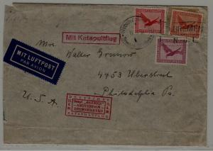 Germany Catapult cover 15.6.30 crease