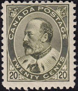 CANADA 94 FVF MH  (102218)