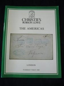 CHRISTIES ROBSON LOWE AUCTION CATALOGUE 1989 THE AMERICAS