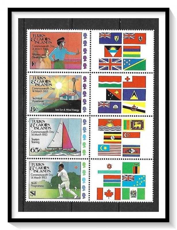 Turks & Caicos #558a Commonwealth Games MNH
