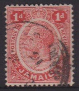 Jamaica Sc#61a Used
