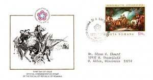 Romania, Worldwide First Day Cover, Americana