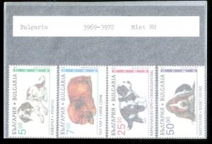 BULGARIA Sc#3969-3972 Complete MINT NEVER HINGED Set