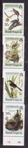 Virgin Is.-Sc#520-3-unused  NH set-Birds-Audubon-id3-1985-
