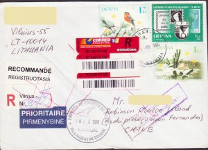 LITHUANIA LIETUVA REGISTER > ROBINSON CRUSOE ISLAND CHILE RETURN ARGENTINA 15625