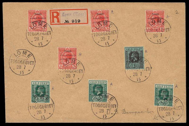 Togo Scott 66-72 Variety Gibbons 34a-41a on Cover