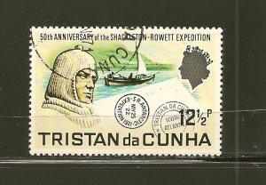Tristan da Cunha 156  Used