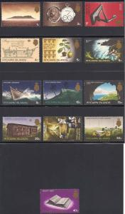 Pitcairn Islands 97-109 Mint VF NH