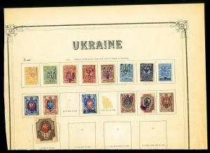 Ukraine Early 1900s Lot Clean Collection of 50 Stamps
