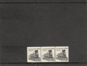 UNITED STATES 1897A MNH PLATE STRIP 3 PLATE 3 2019 SCOTT CATALOGUE VALUE $0.45