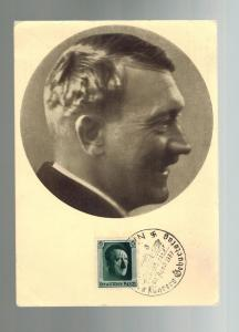 1937 Germany Real Picture postcard Hitler Cover