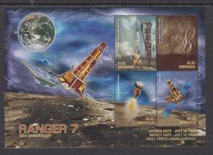 Grenada 4216 Space Souvenir Sheet MNH VF