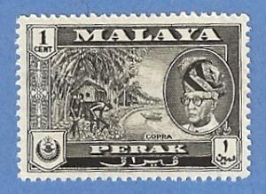 Malaya Perak 127 MH - Copra, Sultan Yussuf Shah