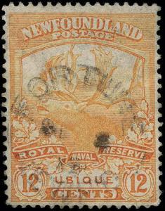 Canada / Newfoundland Scott 115-126 Gibbons 130-141 Used Set of Stamps