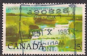 Canada 1983 $5 Point Pelee Definitive used stamp ( A935 )