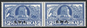 1938 South West Africa SWA semi postal Sc# B8 MNH CV: $50.00 Voortrekker Cent.