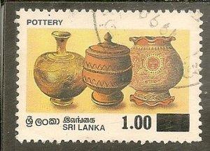 Sri Lanka   Scott 1189   Pottery   Used