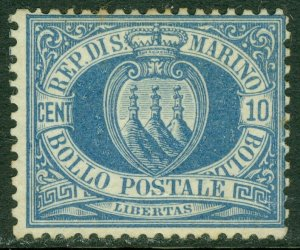 EDW1949SELL : SAN MARINO 1877 Sc #7 Very Fine, Mint No Gum. Nice color. Cat $350