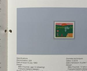 CANADA - 1983 POSTAGE STAMPS SOUVENIR COLLECTION