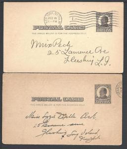 UX19, 1812 Vets, Postal Cards