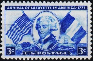 U.S.A. 1952 3c S.G.1007 Unmounted Mint