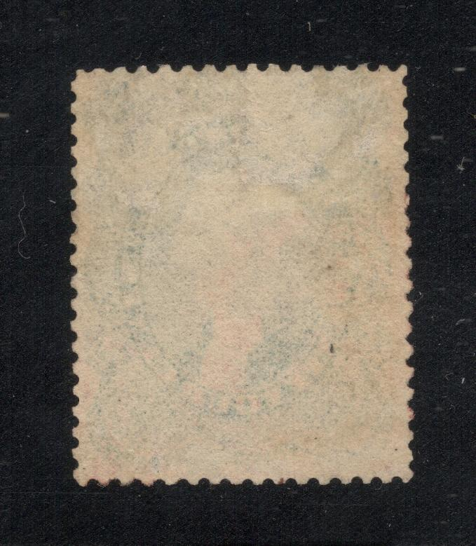 US#37a Gray - Red Grid Cancels