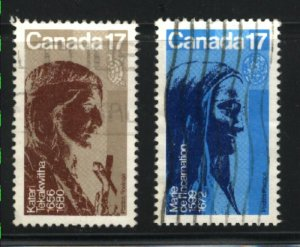 Can #885-86   -3   used VF 1981 PD