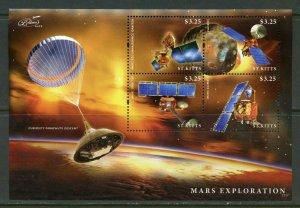 ST. KITTS MARS EXPLORATION  SHEET II  MINT NH