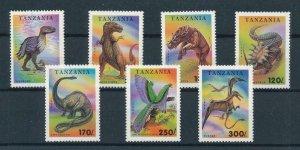 [106206] Tanzania 1994 Prehistoric animals dinosaurs Tyrannosaurus  MNH